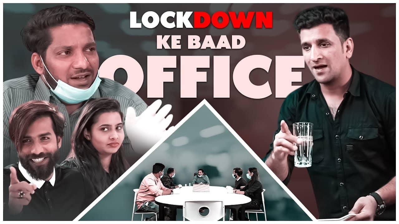 Lockdown Ke Baad Office || A Beautiful Message || Kiraak Hyderabadiz || Silly Monks