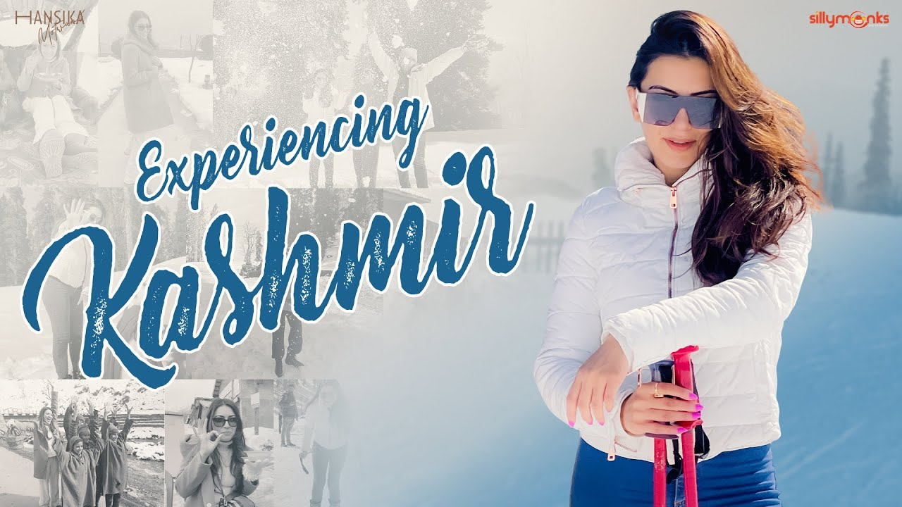 Experiencing Kashmir  Vlog with the family  Hansika Motwani  Silly Monks