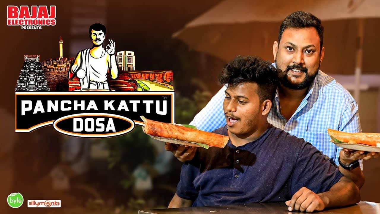 Authentic Rayalseema Breakfast in Hyderabad   Pancha Kattu Dosa   Street Byte   Silly Monks