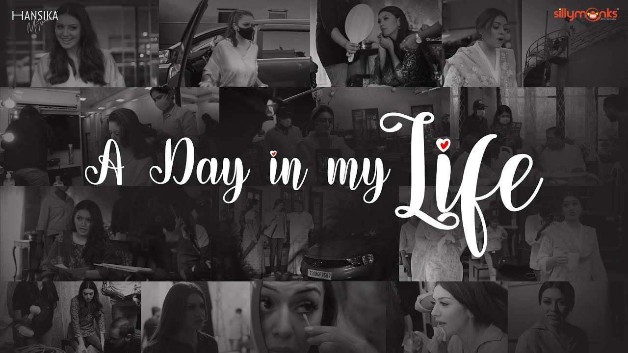 A Day In My Life - Vlog || Filming for my Latest Movie || Hansika Motwani || Silly Monks