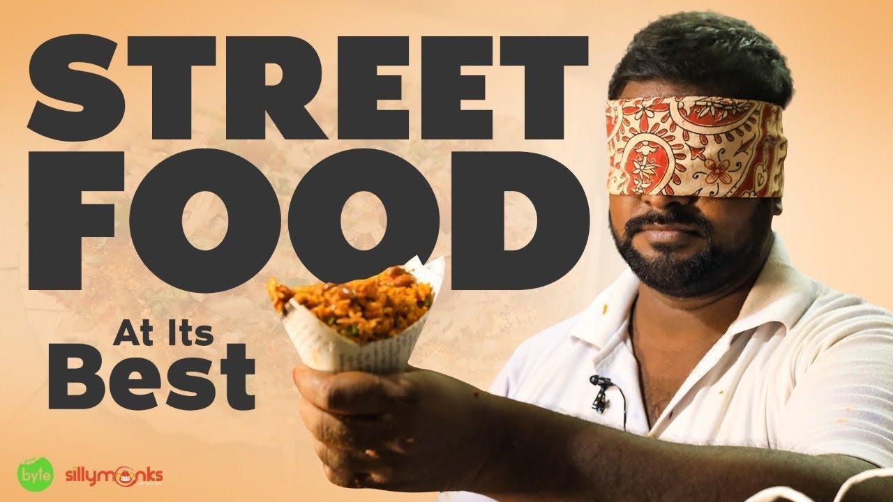 Fruit Bajjis | Amazing Indian Street Food | Rajahmundry | Bajji Mixture | Street Byte | Silly Monks