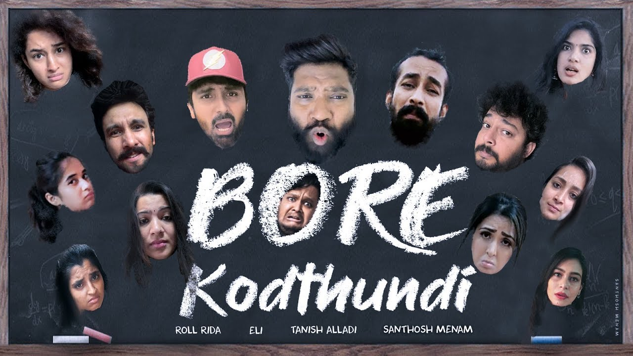 Bore Kodthundi Song | Roll Rida | Directed By Tanish Alladi | Eli