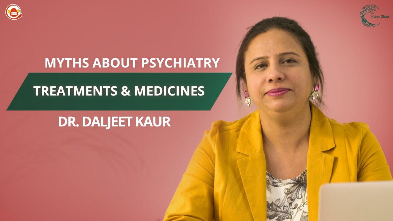 Psychiatrist debunks Mental Health Myths    Dr. Daljeet Kaur    Mannghatt    Silly Monks