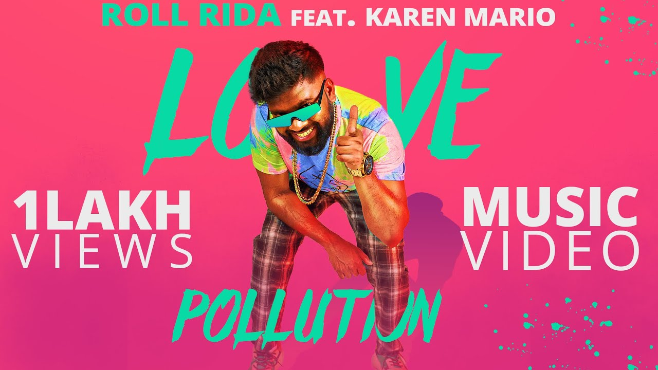 Love Pollution | Roll Rida Feat. Karen Mario | Kanha Mohanty | Eli | Telugu Music Video 2020