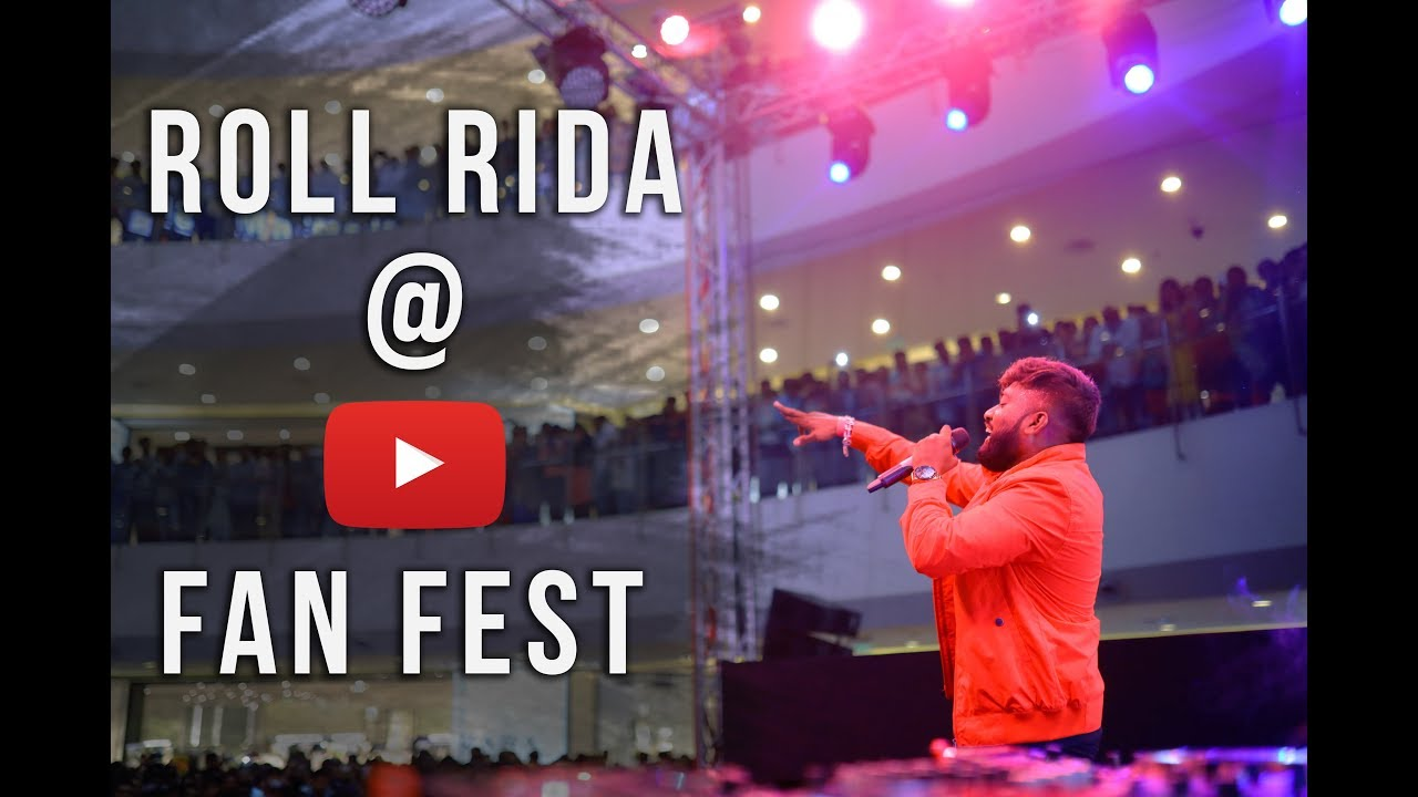 Roll Rida at YouTube Fan Fest 2019