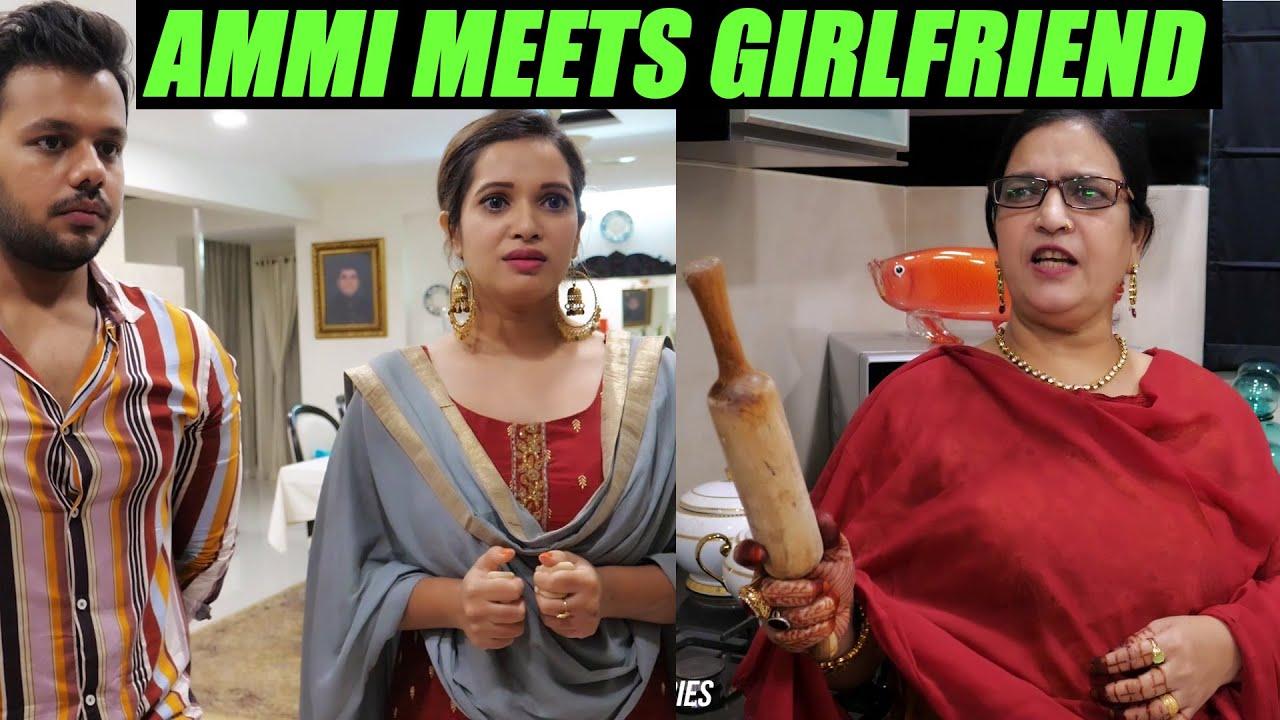 AMMI MEETS GIRLFRIEND