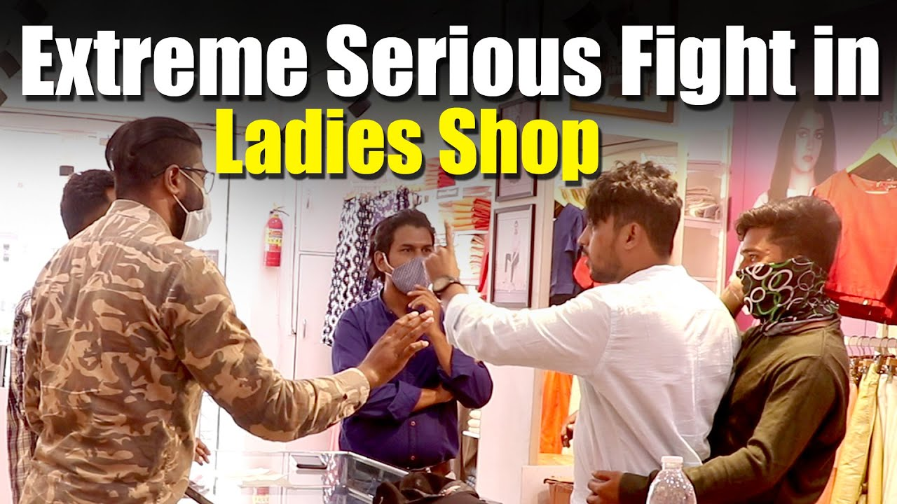 Extreme Serious Dare in Branded Ladies Shop | Vinay Kuyya